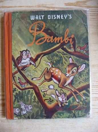 Photo of WALT DISNEY'S BAMBI written by Disney, Walt Salten, Felix illustrated by Disney, Walt published by Collins (STOCK CODE: 318554)  for sale by Stella & Rose's Books