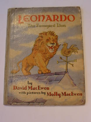 Photo of LEONARDO THE FARMYARD LION written by MacEwen, David illustrated by MacEwen, Molly published by Methuen & Co. Ltd. (STOCK CODE: 321019)  for sale by Stella & Rose's Books