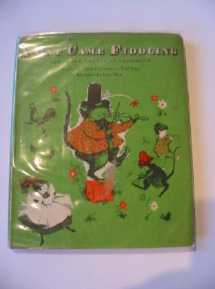 Photo of A CAT CAME FIDDLING written by Kapp, Paul illustrated by Haas, Irene published by Oxford University Press (STOCK CODE: 328034)  for sale by Stella & Rose's Books