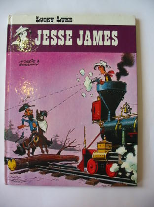 Photo of LUCKY LUKE JESSE JAMES written by Goscinny, Rene illustrated by Morris,  published by Brockhampton Press (STOCK CODE: 380110)  for sale by Stella & Rose's Books