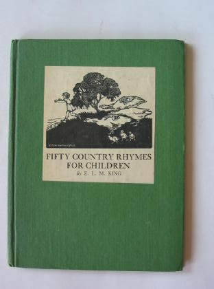 Photo of FIFTY COUNTRY RHYMES FOR CHILDREN written by King, E.L.M. published by Basil Blackwell (STOCK CODE: 380152)  for sale by Stella & Rose's Books