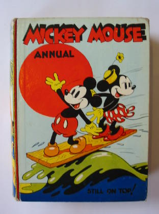 Photo of MICKEY MOUSE ANNUAL 1938 FOR 1939- Stock Number: 381775