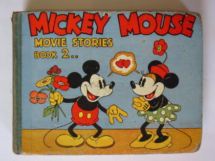 Photo of MICKEY MOUSE MOVIE STORIES BOOK 2- Stock Number: 381802
