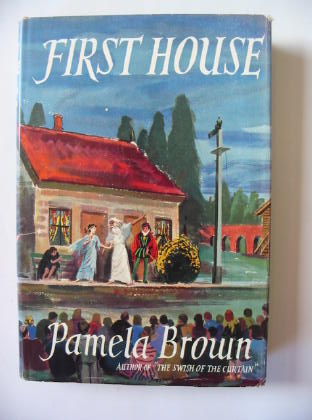 Photo of FIRST HOUSE written by Brown, Pamela illustrated by Brookshaw, Drake published by Thomas Nelson and Sons Ltd. (STOCK CODE: 381924)  for sale by Stella & Rose's Books
