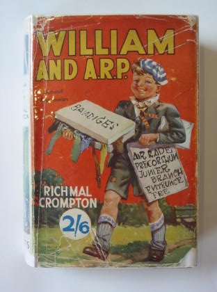 Photo of WILLIAM AND A.R.P. written by Crompton, Richmal illustrated by Henry, Thomas published by George Newnes Limited (STOCK CODE: 383164)  for sale by Stella & Rose's Books