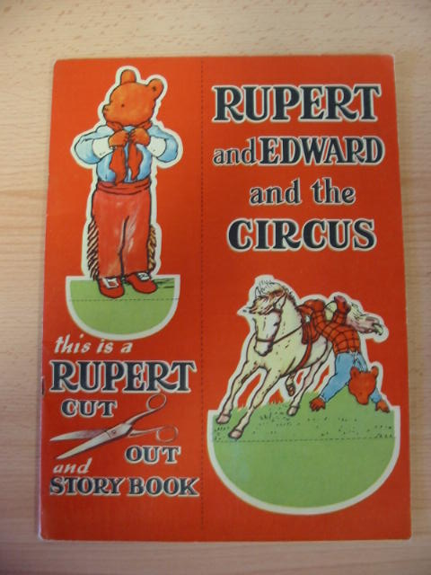 Photo of RUPERT AND EDWARD AND THE CIRCUS- Stock Number: 383253