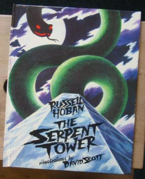 Photo of THE SERPENT TOWER written by Hoban, Russell illustrated by Scott, David published by Methuen Children's Books Ltd., Walker Books (STOCK CODE: 383862)  for sale by Stella & Rose's Books