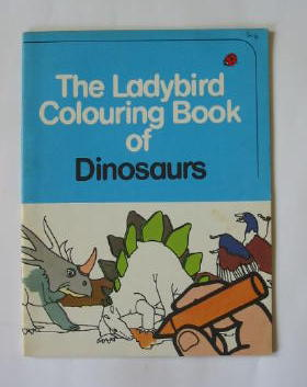 Photo of THE LADYBIRD COLOURING BOOK OF DINOSAURS- Stock Number: 384851