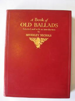 Photo of A BOOK OF OLD BALLADS written by Nichols, Beverley illustrated by Brock, H.M. published by Hutchinson & Co. (STOCK CODE: 385627)  for sale by Stella & Rose's Books