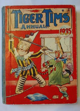 Photo of TIGER TIM'S ANNUAL 1935 published by The Amalgamated Press (STOCK CODE: 386278)  for sale by Stella & Rose's Books