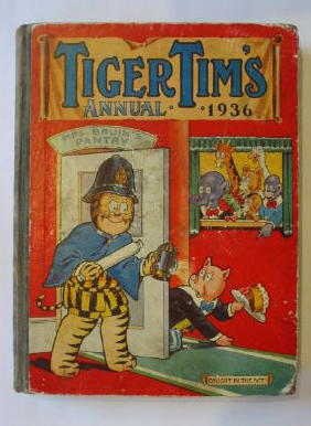 Photo of TIGER TIM'S ANNUAL 1936 published by The Amalgamated Press (STOCK CODE: 386281)  for sale by Stella & Rose's Books