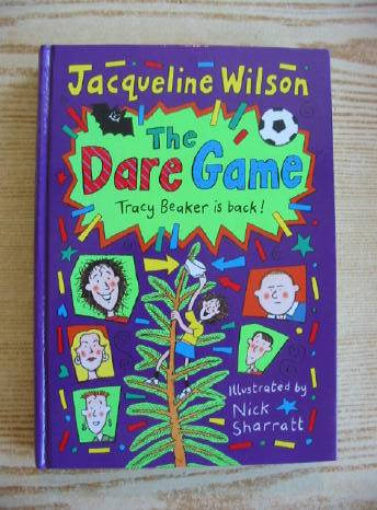 Photo of THE DARE GAME written by Wilson, Jacqueline illustrated by Sharratt, Nick published by Doubleday (STOCK CODE: 403060)  for sale by Stella & Rose's Books