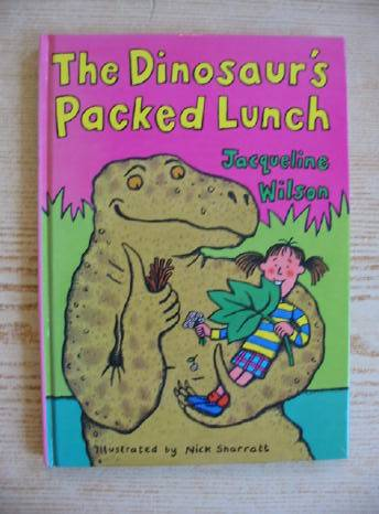 Photo of THE DINOSAUR'S PACKED LUNCH written by Wilson, Jacqueline illustrated by Sharratt, Nick published by Doubleday (STOCK CODE: 403070)  for sale by Stella & Rose's Books