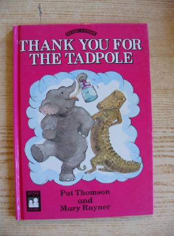 Photo of THANK YOU FOR THE TADPOLE written by Thomson, Pat illustrated by Rayner, Mary published by Victor Gollancz Ltd. (STOCK CODE: 403088)  for sale by Stella & Rose's Books