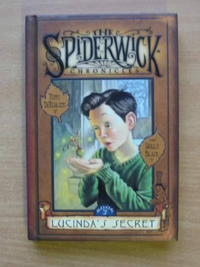 Photo of THE SPIDERWICK CHRONICLES BOOK 3 LUCINDA'S SECRET- Stock Number: 425696
