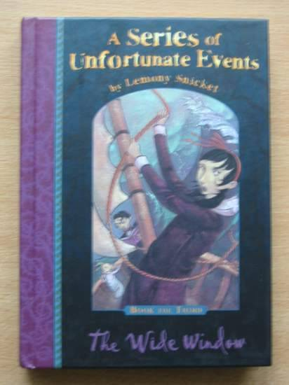 Photo of A SERIES OF UNFORTUNATE EVENTS: THE WIDE WINDOW written by Snicket, Lemony illustrated by Helquist, Brett published by Egmont Children's Books Ltd. (STOCK CODE: 426470)  for sale by Stella & Rose's Books
