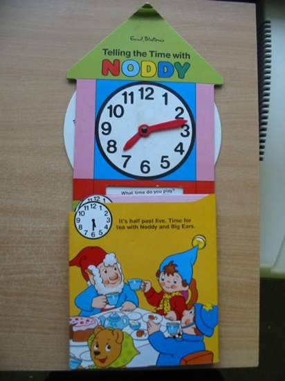 Photo of TELLING THE TIME WITH NODDY written by Blyton, Enid published by Macdonald Purnell (STOCK CODE: 431626)  for sale by Stella & Rose's Books