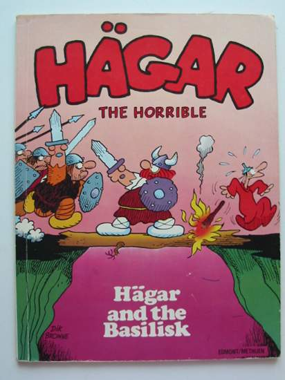Photo of HAGAR AND THE BASILISK- Stock Number: 434195