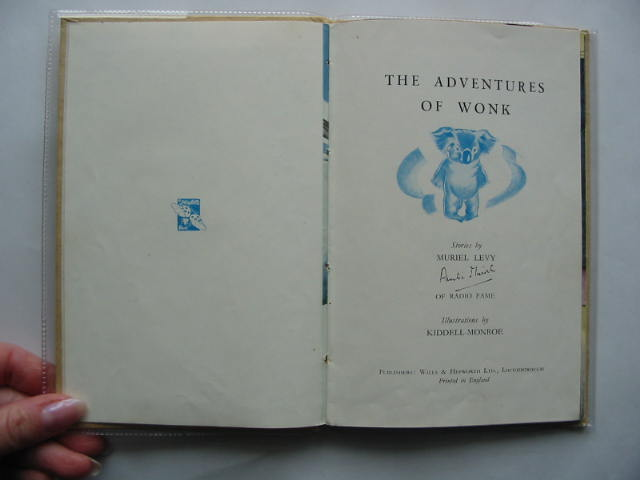 Photo of THE ADVENTURES OF WONK - GOING TO SEA written by Levy, Muriel illustrated by Kiddell-Monroe, Joan published by Wills & Hepworth Ltd. (STOCK CODE: 439303)  for sale by Stella & Rose's Books