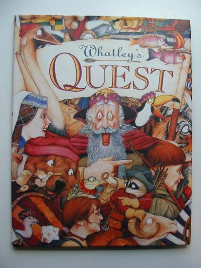 Photo of WHATLEY'S QUEST written by Whatley, Bruce Smith, Rosie illustrated by Whatley, Bruce published by Angus & Robertson (STOCK CODE: 440600)  for sale by Stella & Rose's Books