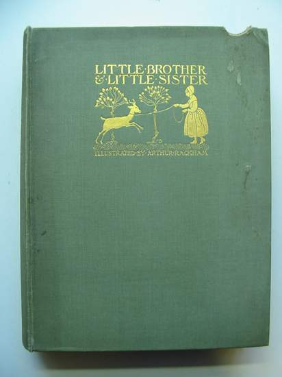 Photo of LITTLE BROTHER & LITTLE SISTER AND OTHER TALES written by Grimm, Brothers illustrated by Rackham, Arthur published by Constable & Co. Ltd. (STOCK CODE: 440800)  for sale by Stella & Rose's Books