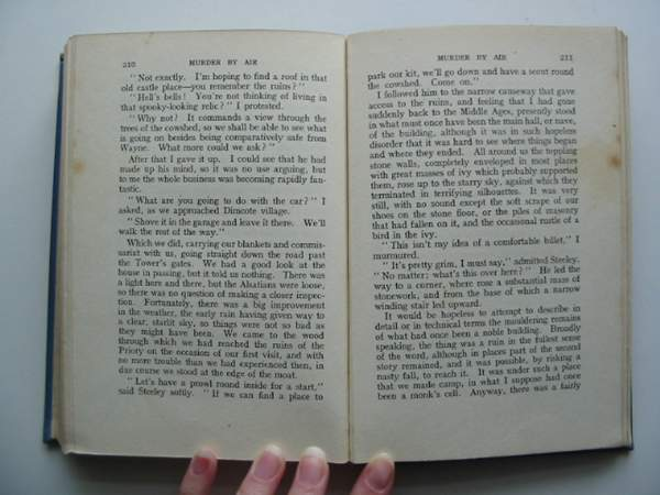 Photo of MURDER BY AIR written by Johns, W.E. published by Newnes (STOCK CODE: 442407)  for sale by Stella & Rose's Books
