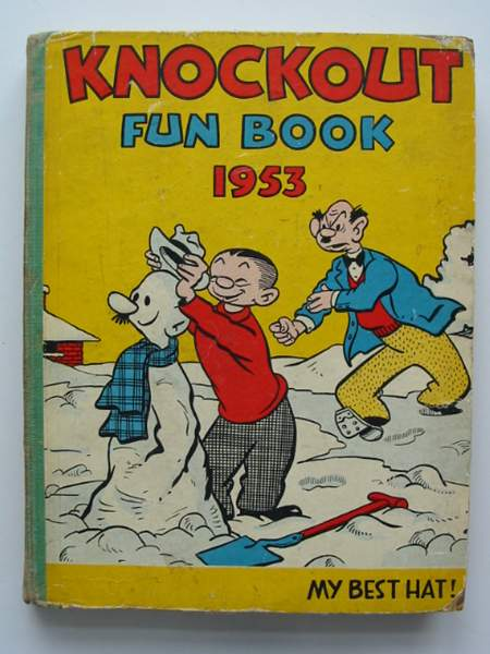 Photo of KNOCKOUT FUN BOOK 1953- Stock Number: 442871