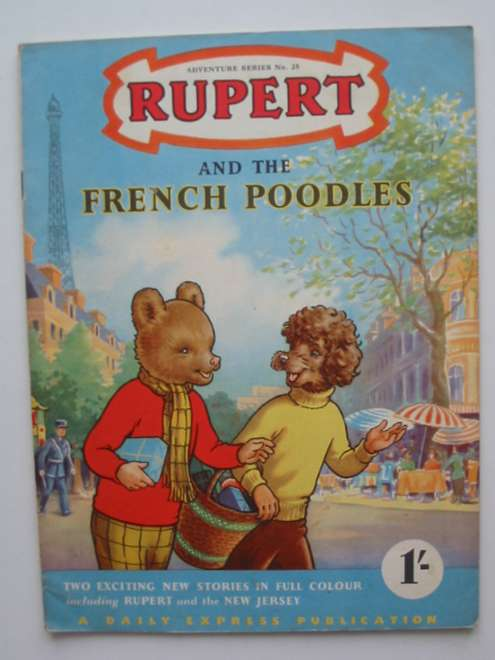 Photo of RUPERT ADVENTURE SERIES No. 25 - RUPERT AND THE FRENCH POODLES written by Bestall, Alfred published by Daily Express (STOCK CODE: 444578)  for sale by Stella & Rose's Books