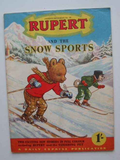 Photo of RUPERT ADVENTURE SERIES No. 23 - RUPERT AND THE SNOW SPORTS written by Bestall, Alfred published by Daily Express (STOCK CODE: 444580)  for sale by Stella & Rose's Books