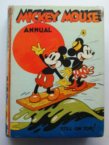 Photo of MICKEY MOUSE ANNUAL 1938 FOR 1939- Stock Number: 444742