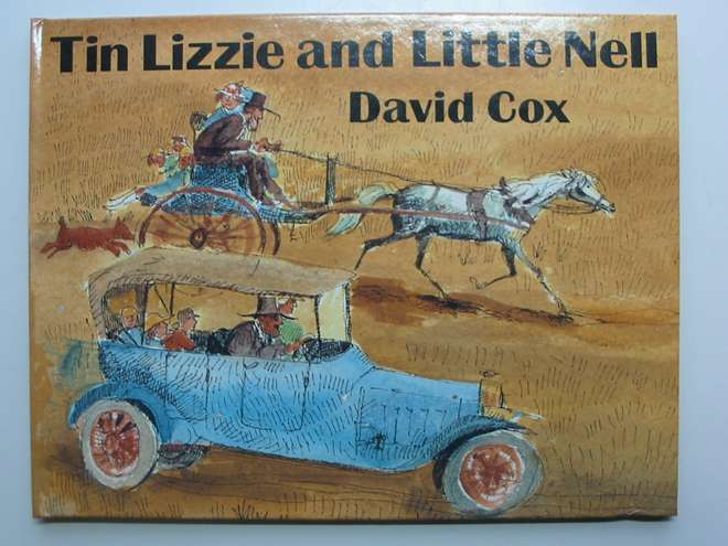 Photo of TIN LIZZIE AND LITTLE NELL written by Cox, David illustrated by Cox, David published by The Bodley Head (STOCK CODE: 446999)  for sale by Stella & Rose's Books
