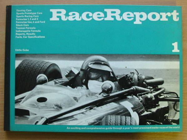 Photo of RACE REPORT 1 written by Guba, Eddie published by Hanns Reich (STOCK CODE: 485756)  for sale by Stella & Rose's Books