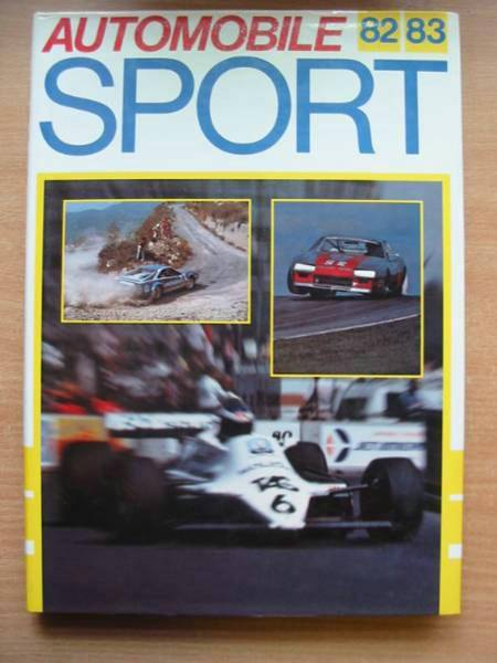Photo of AUTOMOBILE SPORT 1982/83 written by Bamsey, Ian published by Superprofile Ltd. (STOCK CODE: 486000)  for sale by Stella & Rose's Books