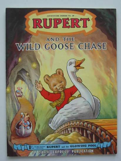 Photo of RUPERT ADVENTURE SERIES No. 20 - RUPERT AND THE WILD GOOSE CHASE- Stock Number: 487331