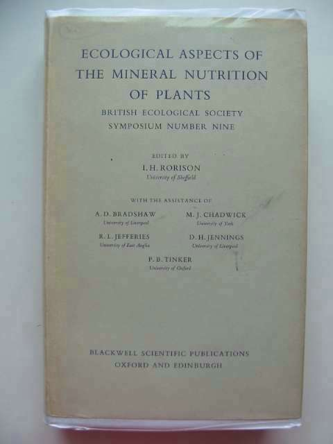 Photo of ECOLOGICAL ASPECTS OF THE MINERAL NUTRITION OF PLANTS written by Rorison, I.H.<br />et al,  published by Blackwell Scientific Publications (STOCK CODE: 553707)  for sale by Stella & Rose's Books