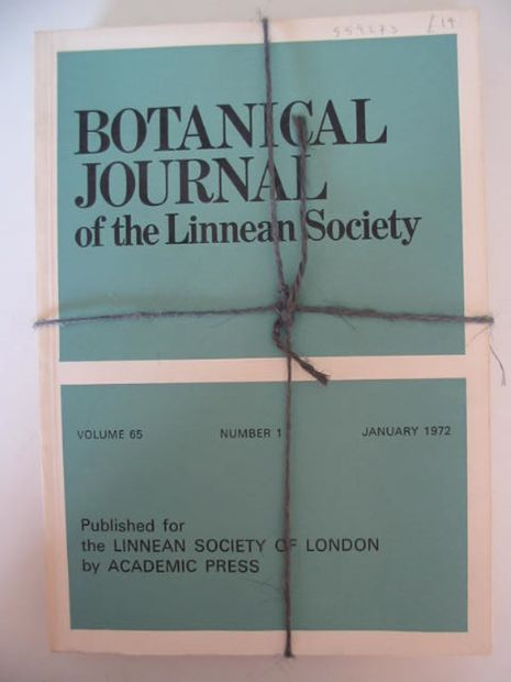 Photo of BOTANICAL JOURNAL OF THE LINNEAN SOCIETY VOLUME 65 published by Academic Press (STOCK CODE: 559273)  for sale by Stella & Rose's Books