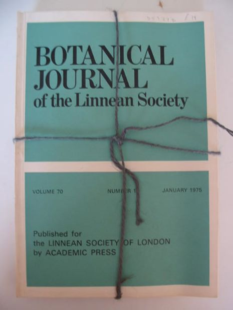 Photo of BOTANICAL JOURNAL OF THE LINNEAN SOCIETY VOLUME 70 published by Academic Press (STOCK CODE: 559278)  for sale by Stella & Rose's Books