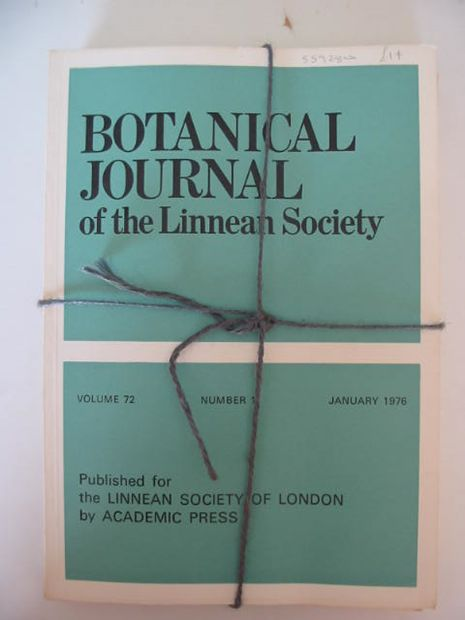 Photo of BOTANICAL JOURNAL OF THE LINNEAN SOCIETY VOLUME 72 published by Academic Press (STOCK CODE: 559280)  for sale by Stella & Rose's Books