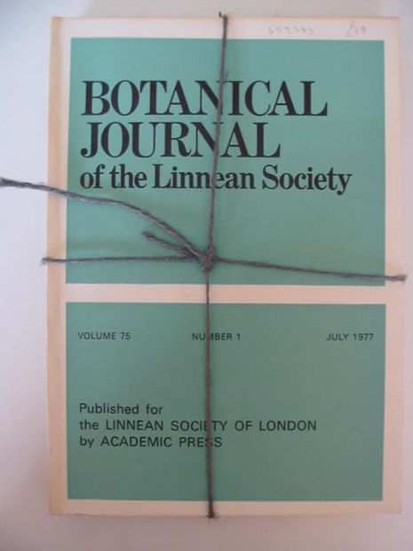 Photo of BOTANICAL JOURNAL OF THE LINNEAN SOCIETY VOLUME 75 published by Academic Press (STOCK CODE: 559283)  for sale by Stella & Rose's Books