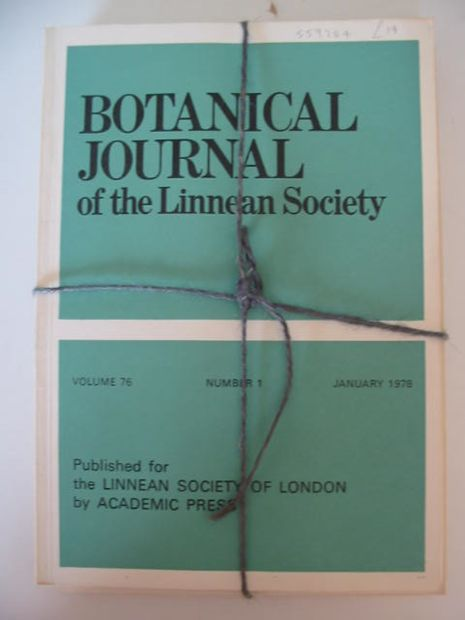 Photo of BOTANICAL JOURNAL OF THE LINNEAN SOCIETY VOLUME 76 published by Academic Press (STOCK CODE: 559284)  for sale by Stella & Rose's Books