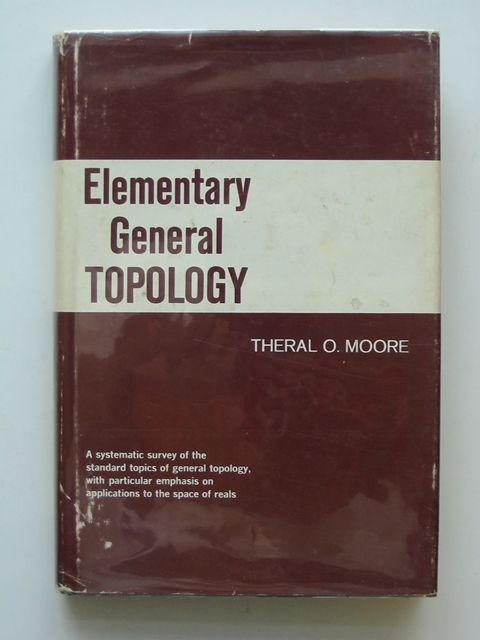 Photo of ELEMENTARY GENERAL TOPOLOGY- Stock Number: 559581