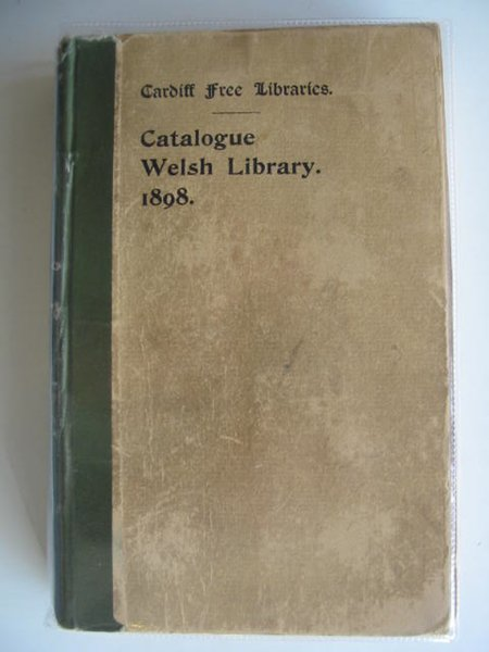 Photo of CATALOGUE OF PRINTED LITERATURE IN THE WELSH DEPARTMENT written by Ballinger, John Jones, James Ifano published by Cardiff Free Libraries (STOCK CODE: 560085)  for sale by Stella & Rose's Books