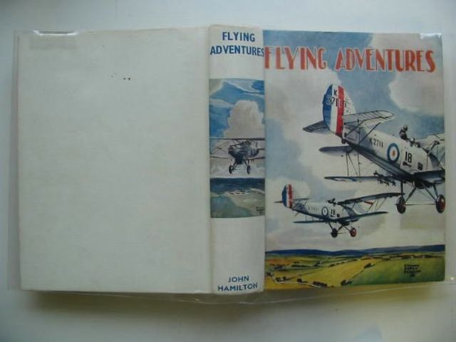 Photo of FLYING ADVENTURES written by Johns, W.E. Rochester, George E. et al,  illustrated by Leigh, Howard Bradshaw, Stanley Orton et al.,  published by John Hamilton (STOCK CODE: 561097)  for sale by Stella & Rose's Books