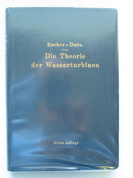 Photo of DIE THEORIE DER WASSERYURBINEN written by Escher, Rudolph Dubs, Robert published by Julius Springer (STOCK CODE: 561713)  for sale by Stella & Rose's Books