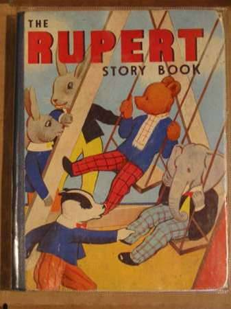 Photo of THE RUPERT STORY BOOK- Stock Number: 562071