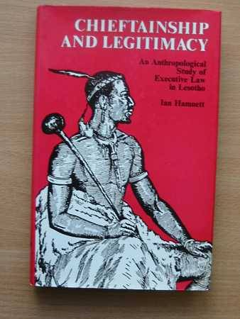 Photo of CHIEFTAINSHIP AND LEGITIMACY written by Hamnett, Ian published by Routledge & Kegan Paul (STOCK CODE: 563047)  for sale by Stella & Rose's Books