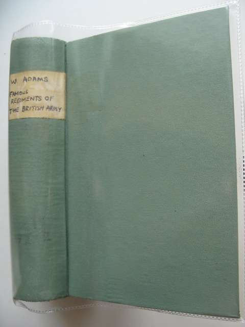 Photo of FAMOUS REGIMENTS OF THE BRITISH ARMY written by Adams, W. (STOCK CODE: 563187)  for sale by Stella & Rose's Books