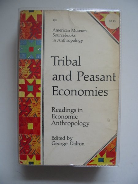 Photo of TRIBAL AND PEASANT ECONOMIES- Stock Number: 563257