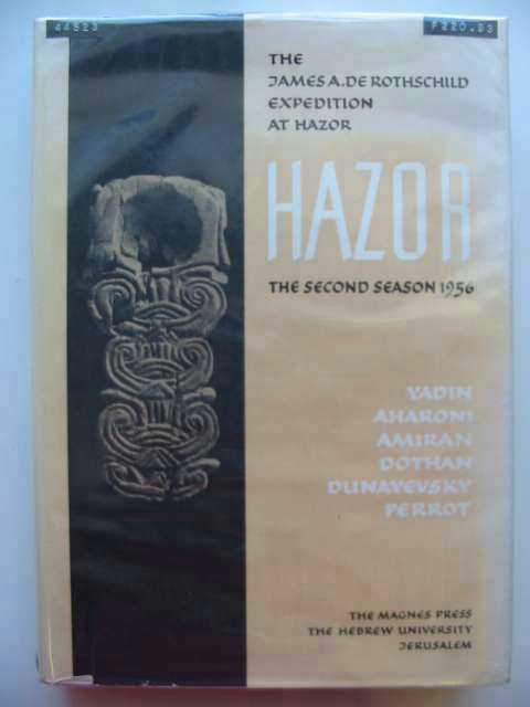 Photo of HAZOR II written by Yadin, Yigael<br />et al,  published by Magnes Press (STOCK CODE: 566257)  for sale by Stella & Rose's Books