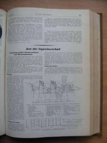 Photo of ZEITSCHRIFT DES VEREINES DEUTSCHER INGENIEURE VOL 78 PART 1 published by Vdi-Verlag (STOCK CODE: 566557)  for sale by Stella & Rose's Books